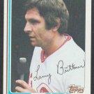 Cincinnati Reds Larry Biittner 1982 Topps Baseball Card 159 nr mt