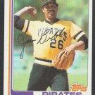 Pittsburgh Pirates Jim Bibby 1982 Topps Baseball Card 170 nr mt
