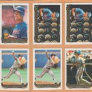 1993 Topps Gold Insert Montreal Expos Team Lot 22 Larry Walker Tim Wallach Moises Alou