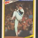 Boston Red Sox Roger Clemens 1987 Topps Woolworth's Collectors Series Baseball Card 7 nr mt