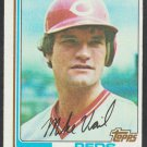 Cincinnati Reds Mike Vail 1982 Topps Baseball Card 194 nr mt