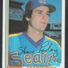 Seattle Mariners Shane Rawley 1982 Topps Baseball Card 197 nr mt