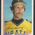 Pittsburgh Pirates Rod Scurry 1982 Topps Baseball Card 207 nr mt