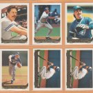 1993 Topps Gold Insert Toronto Blue Jays Team Lot Dave Winfield Jack Morris Dave Stieb Tom Henke