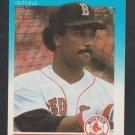Boston Red Sox Jim Rice 1987 Fleer Mini Baseball Card 89 nr mt
