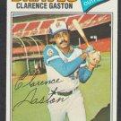 Atlanta Braves Cito Gaston 1977 Topps Baseball Card 192 ex/em