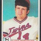 Minnesota Twins Glenn Borgmann 1979 Topps Baseball Card 431 nr mt