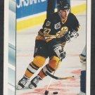 Boston Bruins Steve Leach 1992 Score Hockey Card 54 nr mt