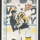 Boston Bruins Vladimir Ruzicka 1992 Score Hockey Card 208 nr mt
