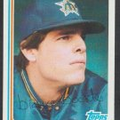 Seattle Mariners Bruce Bochte 1982 Topps Baseball Card 224 nr mt