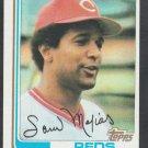 Cincinnati Reds Sam Mejias 1982 Topps Baseball Card 228 nr mt