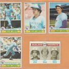 1979 Topps Toronto Blue Jays Team Lot 10 Ernie Whitt rc Rick Cerone Jim Clancy John Mayberry