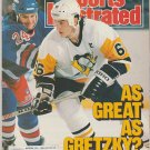 1989 Sports Illustrated Pittsburgh Penguins Mario Lemieux New York Yankees Golden State Horse Racing