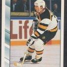 Boston Bruins Glen Wesley 1992 Score Hockey Card 230 nr mt