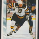 Boston Bruins Bob Sweeney 1992 Score Hockey Card 317 nr mt