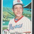 Atlanta Braves Barry Bonnell 1979 Topps Baseball Card 496 nr mt
