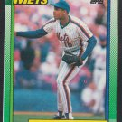 New York Mets Doc Gooden 1990 Topps Box Bottom Baseball Card # E