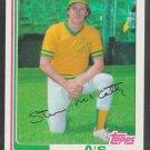 Oakland Athletics Steve McCatty 1982 Topps Baseball Card 113 nr mt
