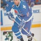 Quebec Nordiques Joe Sakic Calgary Flames Al MacInnis 1993 Pinup Photos 8x10