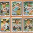 1981-1984 Donruss Minnesota Twins Team Lot 24 Kent Hrbek RC Butch Wynegar Roy Smalley
