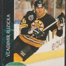 Boston Bruins Vladimir Ruzicka 1992 Parkhurst Hockey Card 5