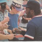 Boston Red Sox Lee Smith Signing Autographs For Fans 1989 Pinup Photo 8x10
