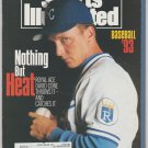 1993 Sports Illustrated Baseball Preview Kansas City Royals Atlanta Braves Montreal Expos Kentucky