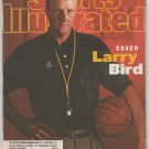 1997 Sports Illustrated Indiana Pacers Boston Celtics Oakland Raiders Larry Bird Michael Jordan