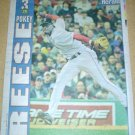 Boston Red Sox Pokey Reese Throwing to 1st Base 2004 Boston Herald Poster