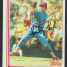 Philadelphia Phillies Sparky Lyle 1982 Topps Baseball Card 285 nr mt