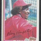 St Louis Cardinals Garry Templeton 1982 Topps Baseball Card 288 nr mt