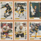 1991 Upper Deck Boston Bruins Team Set 23 Ray Bourque Cam Neely Glen Murray RC Rookie Card