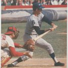 Detroit Tigers Al Kaline At Bat In 1968 World Series 1990 Pinup Photo 8x10