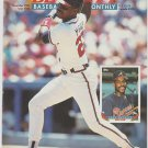 Atlanta Braves Fred McGriff Batting 1993 Pinup Photo 8x10