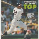 Chicago White Sox Carlton Fisk Batting at Comiskey Park 1990 Pinup Photo 8x10