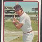 Boston Red Sox Danny Cater 1974 Topps Baseball Card 543 ex