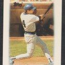 Milwaukee Brewers Paul Molitor 1988 Topps Mini League Leader Baseball Card 19 nm
