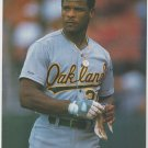 Oakland Athletics Rickey Henderson 1990 Pinup Photo 8x10