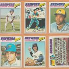 1977 Topps Milwaukee Brewers Tam Lot Robin Yount Gorman Thomas Sal Bando George Scott Darrell Porter