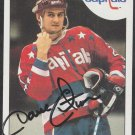 Washington Capitals Dave Christian Autograph Signed 1985 Topps Hockey Card 99