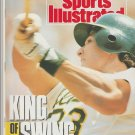 1990 Sports Illustrated Oakland Athletics Chicago White Sox Comiskey Park Cincinnati Reds CFL Lions