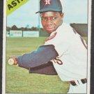 Houston Astros Jim Wynn 1966 Topps Baseball Card 520 vg/ex