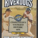 2018 SAL Charleston River Dogs Pocket Schedule South Atlantic League Class A