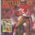 1990 Beckett Football Issue 2 San Francisco 49ers Joe Montana Cover