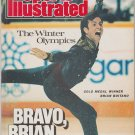 1988 Sports Illustrated Calgary Canada Winter Olympics Team USA Hockey Brian Boitano