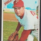Philadelphia Phillies Bo Belinsky 1966 Topps Baseball Card 506 vg