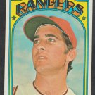 Texas Rangers Mike Paul 1972 Topps Baseball Card 577 ex
