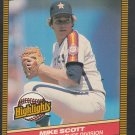 Houston Astros Mike Scott 1986 Donruss Highlights 46 No Hitter Clinches Division nm