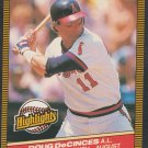 California Angels Doug DeCinces 1986 Donruss Highlights 39 Player of the Month
