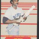 Boston Red Sox Jim Rice 1987 Fleer Headliner Insert Baseball Card # 6 nr mt